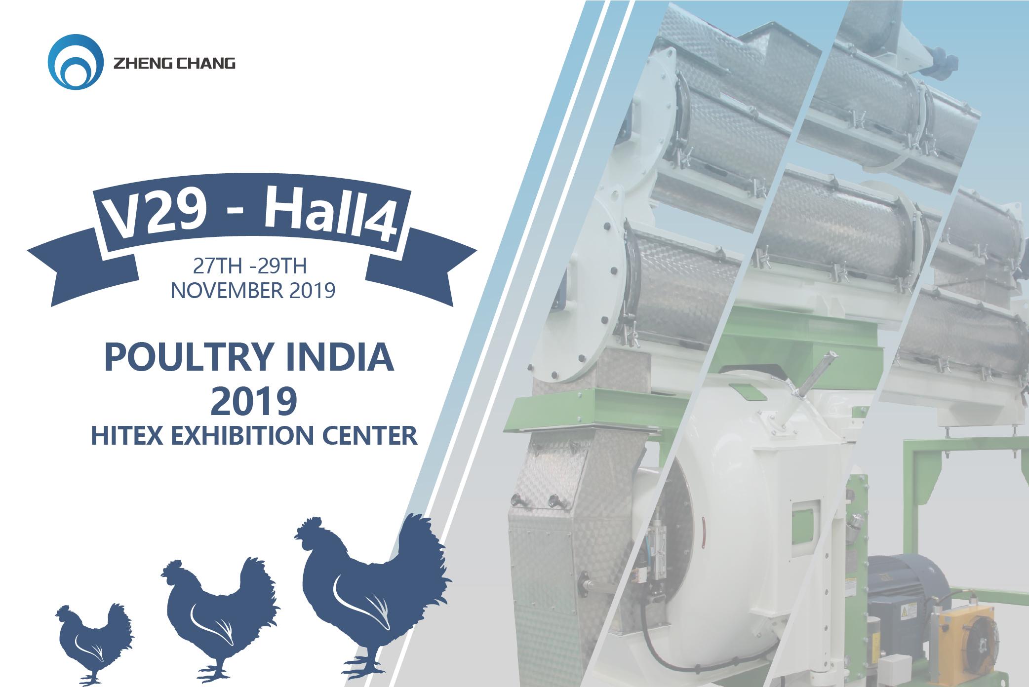 Invitation Poultry India 2019 Zhengchang News News Zhengchang